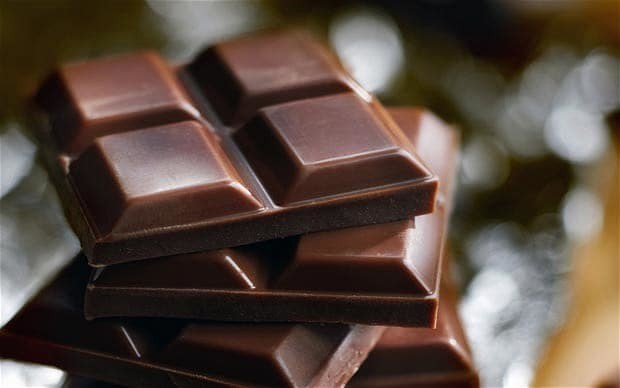 Dark chocolate and green tea is the perfect concentration combination