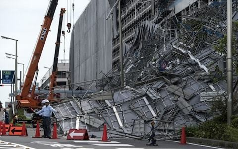 Record-breaking Typhoon Faxai batters Tokyo, leaving one dead and causing travel chaos in Japan
