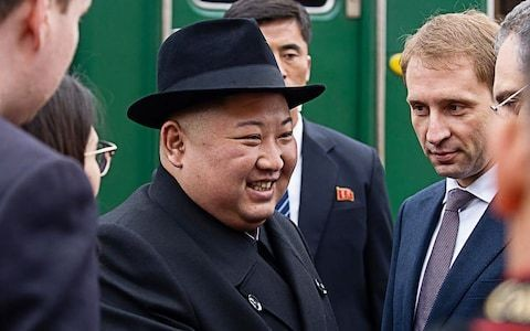 North Korea's Kim Jong-un arrives in Russia for summit with Putin as US nuclear talks stall
