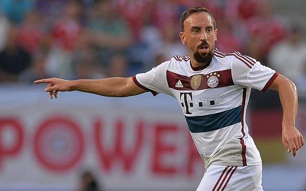 Bayern Munich's Franck Ribéry retires from France duty