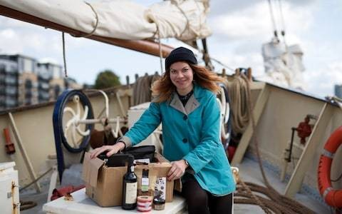 Eco-shopping by schooner – is this the 'peak hipster' way to stock up for Christmas?