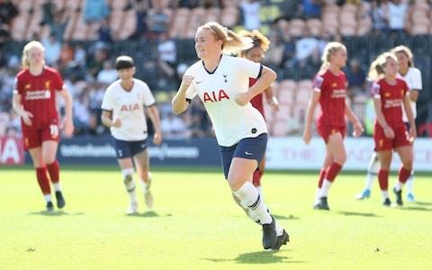 Rachel Furness penalty gives Tottenham first Women's Super League points as they see off Liverpool