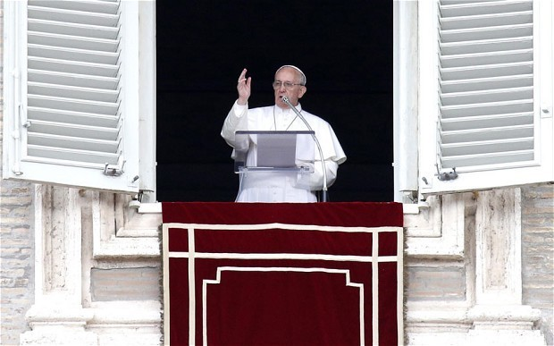 Pope attacks 'slavery and pain' inflicted by the Mafia