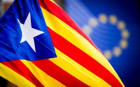The EU's spineless leaders, always vocal about Brexit, have gone strangely silent on Catalonia