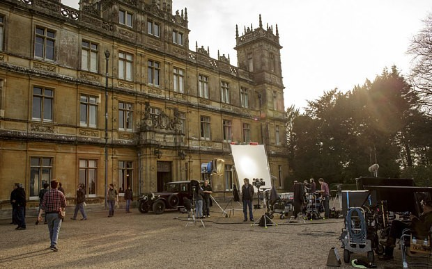 Downton Abbey: Behind the scenes of series 5