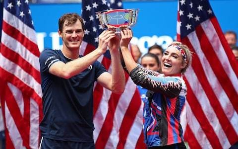Jamie Murray makes history to win third straight US Open mixed-doubles title