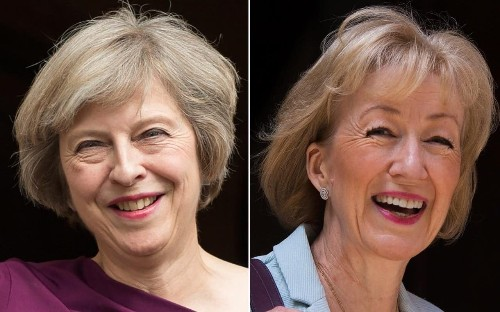 Conservative leadership election: Theresa May and Andrea Leadsom begin the battle to replace David Cameron as leader