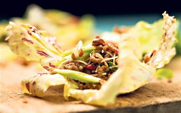 Chinese pork lettuce cups recipe