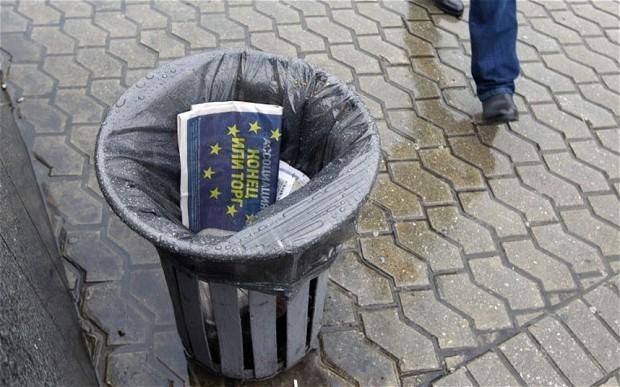 Historic defeat for EU as Ukraine returns to Kremlin control
