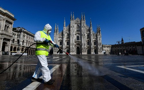 Italy demands solidarity from Germany in coronavirus crisis as rifts deepen within EU