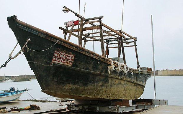 Japan investigates ghost ships with dead bodies washing ashore