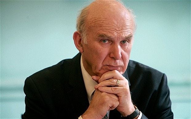 Vince Cable backs land tax for home owners