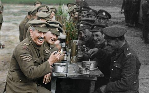 First World War brought to life in 3D colour by Lord of the Rings director