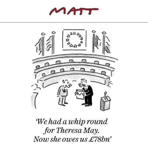 Matt cartoons, May 2019