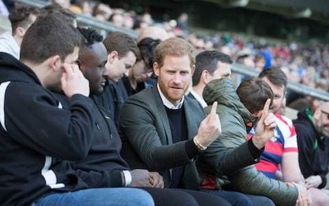 Prince Harry to return to Buckingham Palace to fulfil duty as host for Rugby League World Cup draw