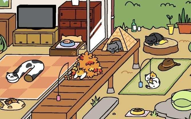 The new, classier Angry Birds? Cat game Neko Atsume takes internet by a storm