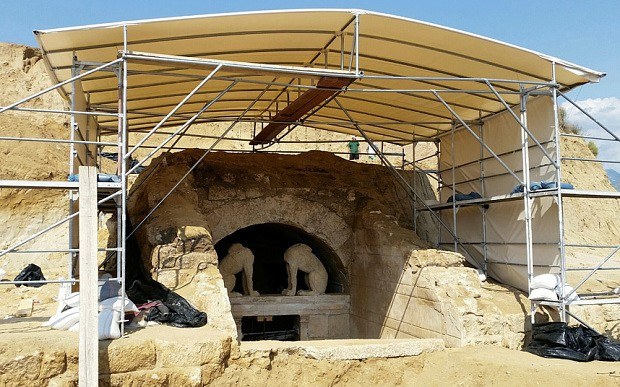 Ancient Greek grave 'for Alexander the Great's friend Hephaestion'