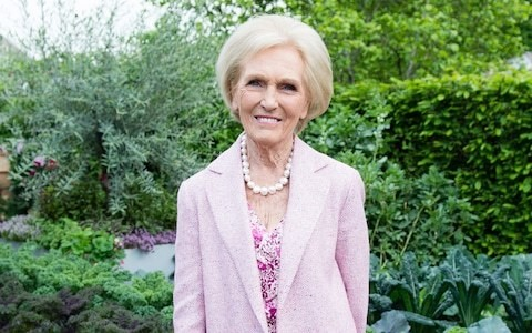 Mary Berry on how she spends her Saturday...hosting dinners, and watching her grandchildren play sport