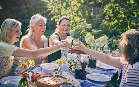 Summer party season is a major source of al fresco angst