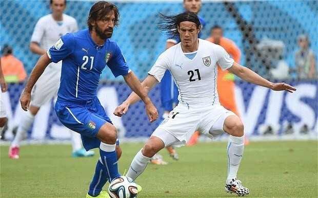 Italy midfielder Andrea Pirlo ready to change his mind on retirement and sets his sights on Euro 2016
