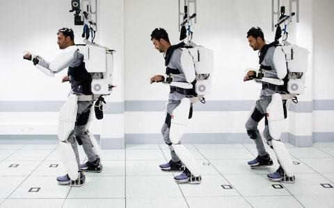 Is the robotic suit the first step on the slippery slope to us all becoming cyborgs?