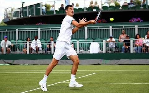 All England Club warned they are on 'slippery slope' by fining Bernard Tomic for lack of effort