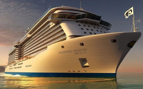 Majestic Princess: Princess Cruises names new €600 million ship designed for Chinese