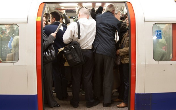 Catching public transport does not give you flu