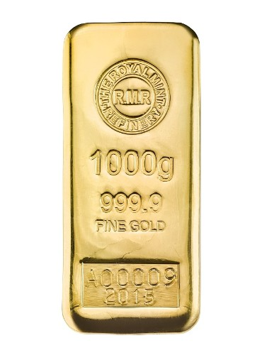 Royal Mint sells 1kg gold bullion bars – at £25,000
