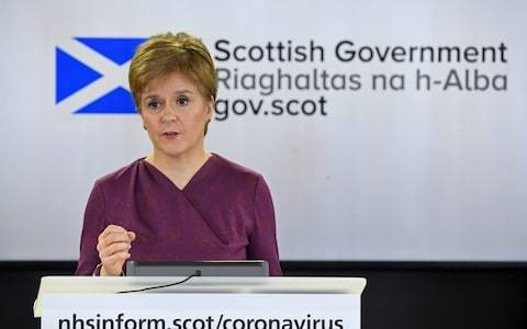 Nicola Sturgeon must stop playing politics with the coronavirus crisis