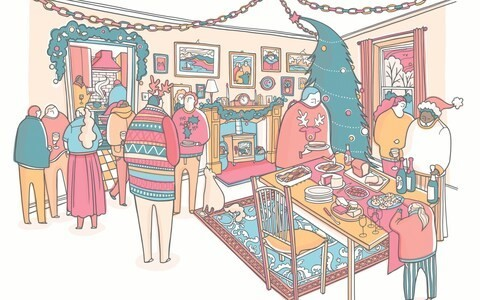 From a giant pudding to a cottage by the sea, writers share their families' most beloved Christmas traditions