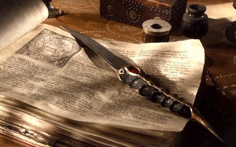 Arya's dagger: the secret history of that Valyrian steel knife in Game of Thrones