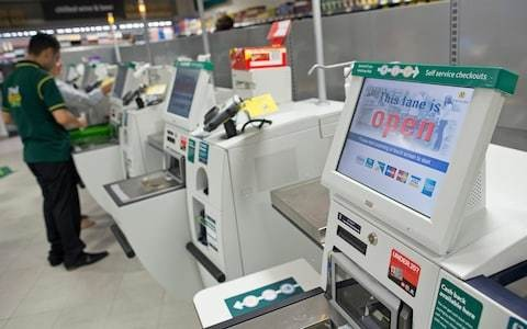 Charge shoppers 1p to use self-checkout machines to heal Brexit divisions, say MPs