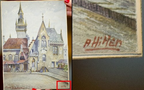 Adolf Hitler the artist: Watercolours and drawings sold at auction, in pictures - Telegraph