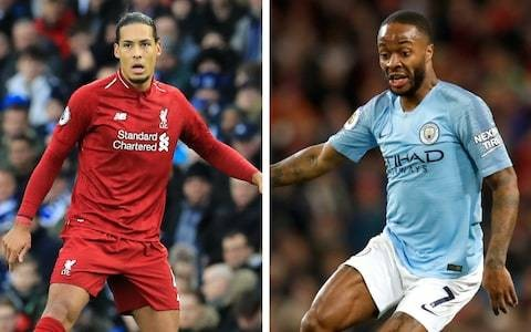 PFA Player of the Year: Virgil van Dijk and Raheem Sterling lead the way in six-man shortlist
