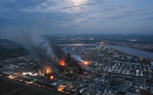 Explosion at Chinese chemical plant kills 47, injures 640