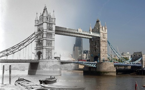 London's Bridges Now and Then: In pictures