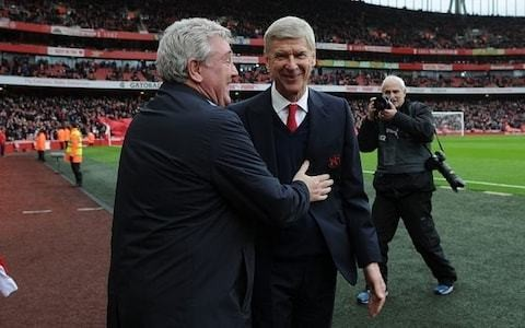 Steve Bruce says criticism of under-fire Arsenal manager Arsene Wenger is 'appalling' and 'ridiculous'