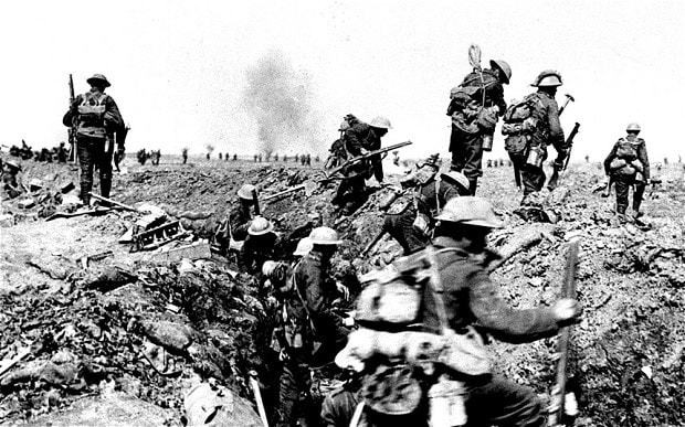 Remembering the Irish who fought with Britain in 1914