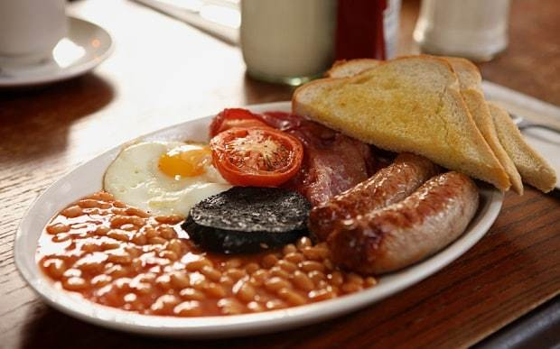 Where can you find Britain's best breakfast?
