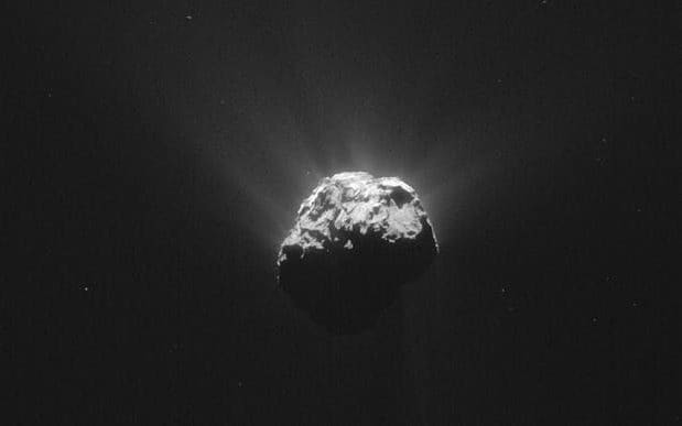 Comets could have sparked life on Earth as building blocks of DNA found in space