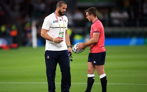 Andy Farrell will be doing his utmost to beat England, says George Ford