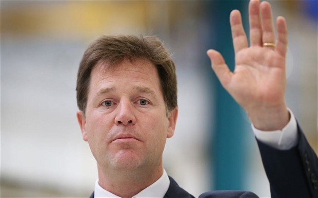 Nick Clegg: Proposals for cap on EU migrants are 'pointless'