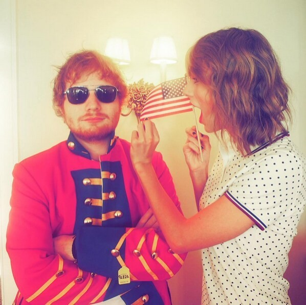 Taylor Swift wrote the cutest birthday message to Ed Sheeran