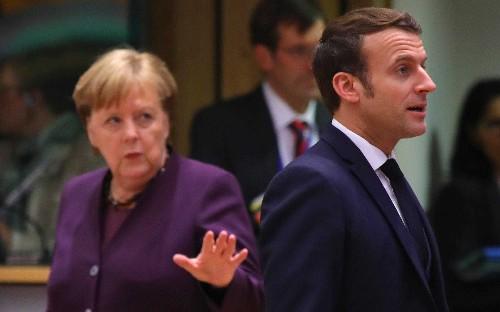 Don't use Brexit to cut EU's trillion euro budget, Emmanuel Macron warns