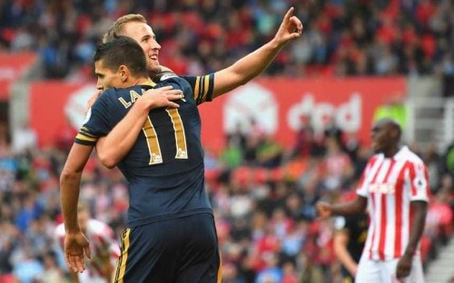 Harry Kane targets a place in the Champions League knockout stages after impressive Stoke win