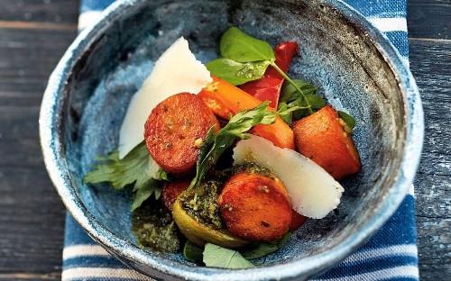 Sweet-potato gnocchi