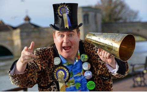 Lord Toby Jug, eccentric who stood in general elections for the Monster Raving Loony Party – obituary
