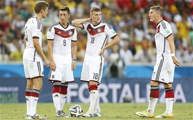 Germany hit by health scare as seven players are struck by 'flu symptoms' ahead of World Cup quarter-final