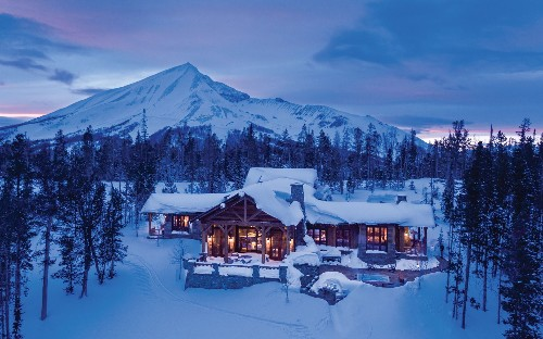 Inside the £7.5m uber-luxury ski cabin in one of the world's most exclusive resorts